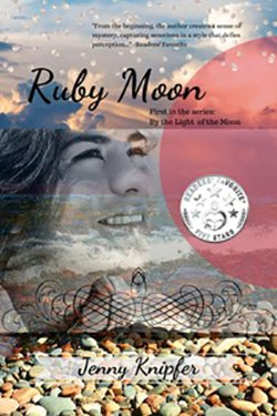 Ruby Moon by Jenny Knipfer cover redesign by The Book Cover Whisperer